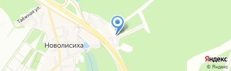 Туристическая учебно-спортивная база на карте Иркутска