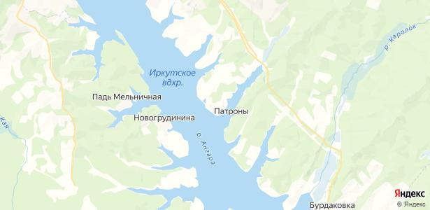 Патроны на карте
