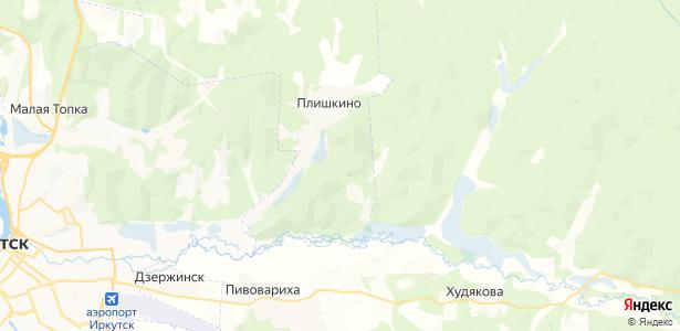 Плишкино на карте