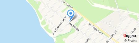 Дом бобра на карте Большой Речки