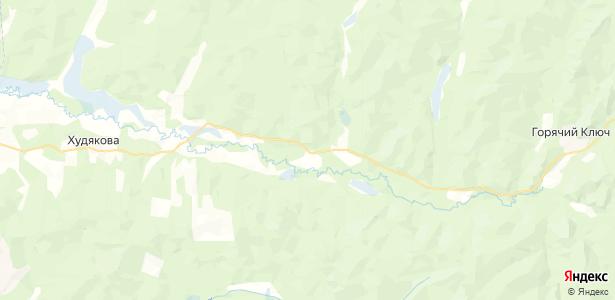 Поливаниха на карте