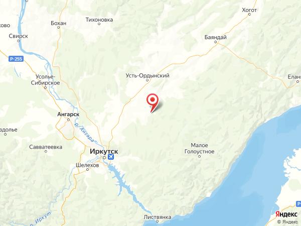 поселок Свердлово на карте