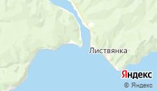 Гостиницы города Байкал на карте