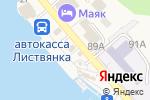 Схема проезда до компании Dauria в Листвянке