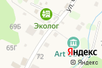 Схема проезда до компании Картинная галерея им. В.Ю. Пламеневского в Листвянке