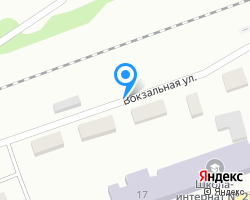 Схема местоположения почтового отделения 671220