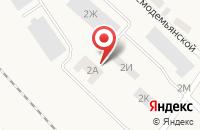 Схема проезда до компании Схт в Усть-Куте