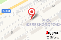 Схема проезда до компании Луна в Усть-Куте