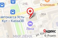 Схема проезда до компании Сиб - Юг - Лтд в Усть-Куте