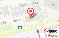 Схема проезда до компании М-Ресурс в Усть-Куте