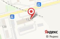 Схема проезда до компании Хуршед в Усть-Куте