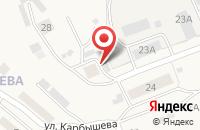 Схема проезда до компании Маяк в Усть-Куте