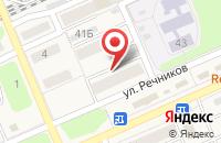Схема проезда до компании Технология в Усть-Куте