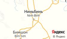 Отели города Ниньбинь на карте
