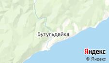 Отели города Бугульдейка на карте