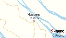 Отели города Чавинь на карте