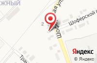 Схема проезда до компании Символ в Ахтырском