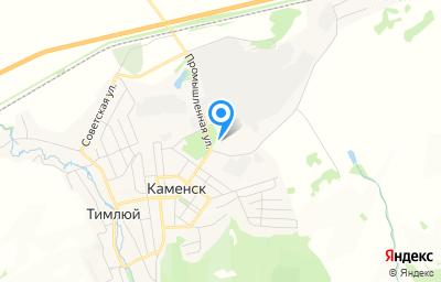 Местоположение на карте пункта техосмотра по адресу Респ Бурятия, Кабанский р-н, пгт Каменск, ул Промышленная, д 11А