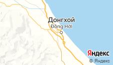 Отели города Донгхой на карте
