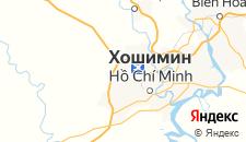 Отели города Хошимин на карте