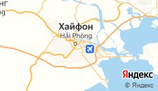 Отели города Хайфон на карте