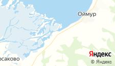Гостиницы города Дубинино на карте