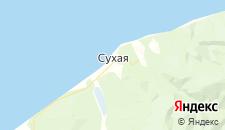 Отели города Сухая на карте