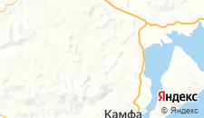 Отели города Куангнинь на карте