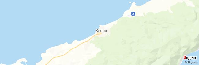 Ольхон (Хужир) на карте