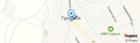 Продуктовый магазин на Советской (Гурульба) на карте Гурульбы