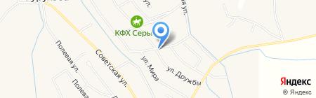 Родничок на карте Гурульбы