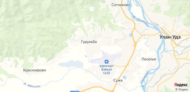 Гурульба на карте
