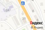 Схема проезда до компании Продуктовый магазин в Сотниково