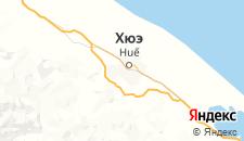 Отели города Хюэ на карте