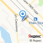 БухОфис на карте Улан-Удэ