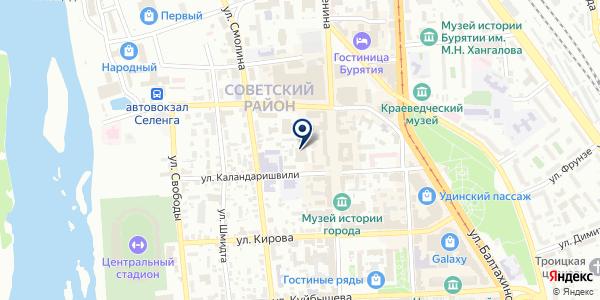 ИД ИНФОРМПОЛИС на карте Улан-Удэ