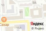 Схема проезда до компании БайкалМикроФинанс в Улан-Удэ