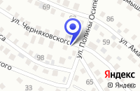 Схема проезда до компании ХЛЕБОПЕКАРНЯ ДАНЕЛЯН В.А. в Баргузине