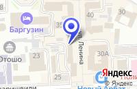 Схема проезда до компании САЛОН СОТОВОЙ СВЯЗИ ДИКСИС-МАРКЕТ в Улан-Удэ