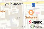 Схема проезда до компании Золотая орхидея в Улан-Удэ