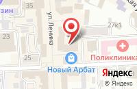 Схема проезда до компании Буркоопсервис в Улан-Удэ