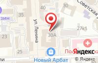 Схема проезда до компании Химтрансальянс в Улан-Удэ