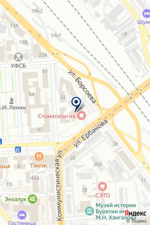 СПАС на карте Улан-Удэ