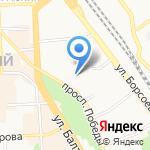 Детская школа искусств №1 им. Л.Л. Линховоина на карте Улан-Удэ