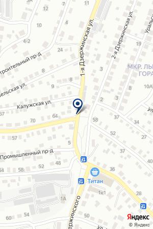 ГАРАЖ ГОРОДСКОЙ УЗЕЛ ЭЛЕКТРОСВЯЗИ ЗОНА на карте Улан-Удэ