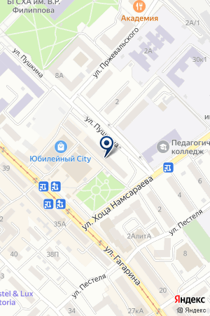 АЗС БУРЯТНЕФТЕПРОДУКТ на карте Улан-Удэ