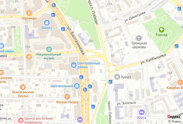 купить квартиру в ЖК ул. Балтахинова, 36