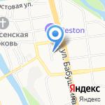 Бурятская гимназия №29 на карте Улан-Удэ