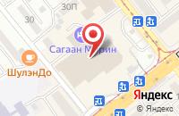 Схема проезда до компании Бурятская Инновационная Компания в Улан-Удэ