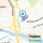 Улан-Удэнский торгово-экономический техникум на карте Улан-Удэ